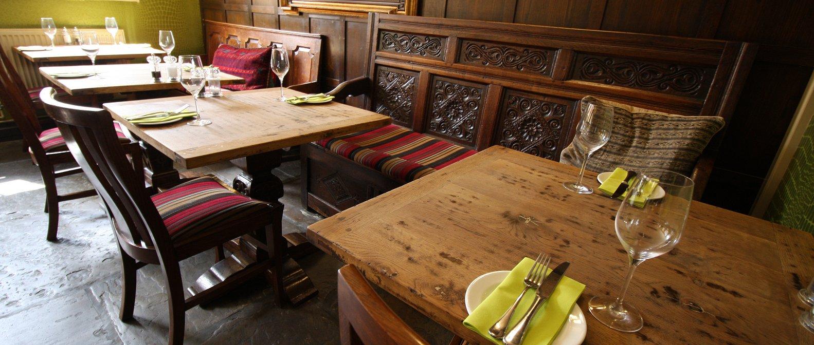 Angel Oak Restaurant Week Menu