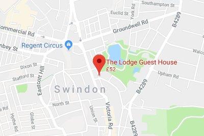 Find Us | The Lodge, Swindon bed & breakfast, en-suite guest house