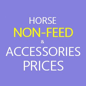 Horse non-feed & accesories prices from Toomers